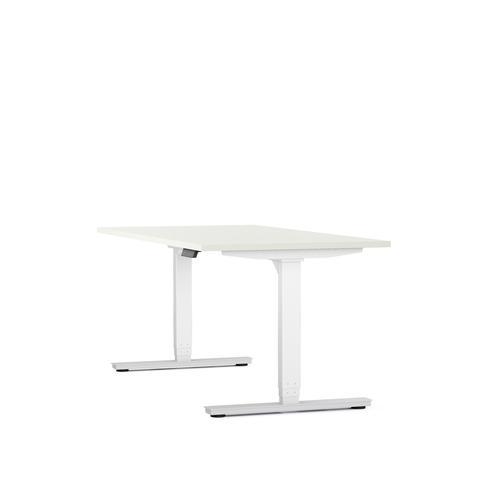 Axel standing desk W1200 x D800 white