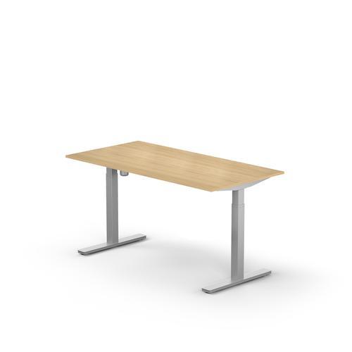 Rectangular Desk Lutz UK W1400xD800xThk. 25 mm Light Oak