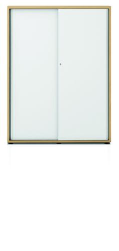 Armand cupboard with 2 sliding doors H. 1135 mm