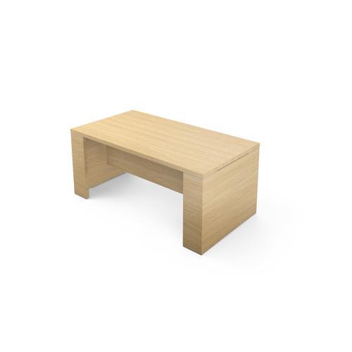 Kara desk W. 1700 x D. 900 mm light oak