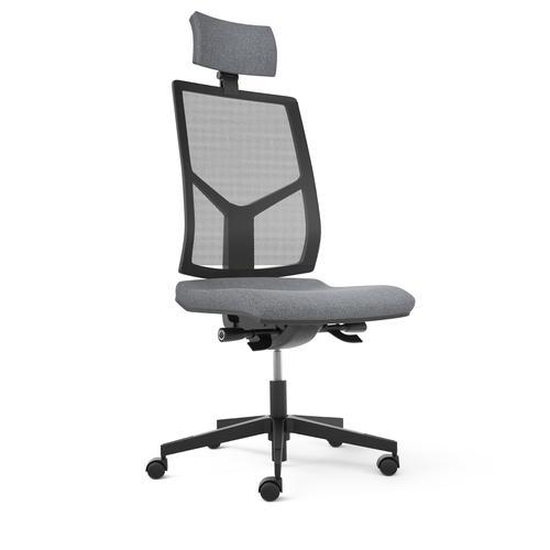 Opus Black Seat Mesh Backrest & Headrest