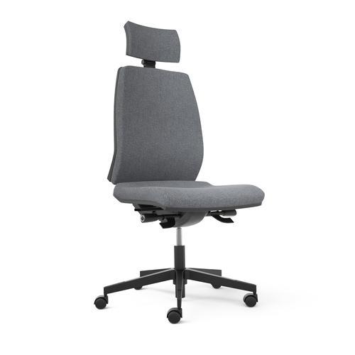 Opus Black Seat Backrest & Headrest