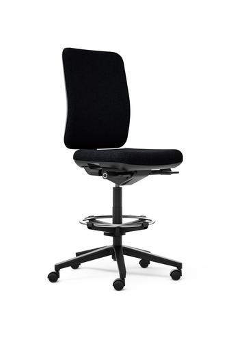 Oscar draughtsman chair in black
