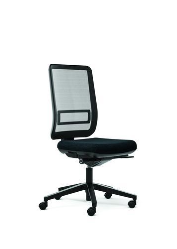 Oscar Grey Seat With Mesh Backrest