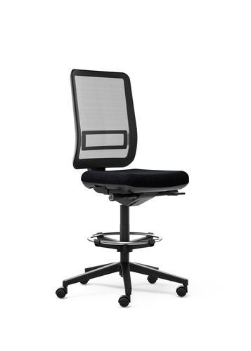 Oscar Draughtsman Chair Grey