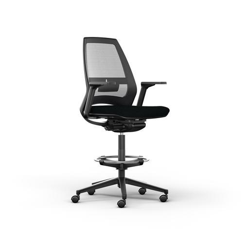 Eliott Black Mesh Chair