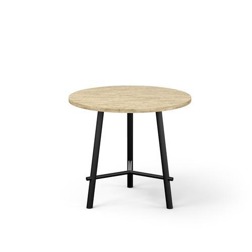 Clara Brunzwick Oak Melamine Table Diameter 800mm H735