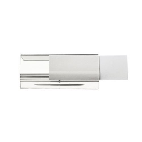 Leitz Ultimate Plastic Tabs for Suspension File Clear Ref 17500002 [Pack 25]
