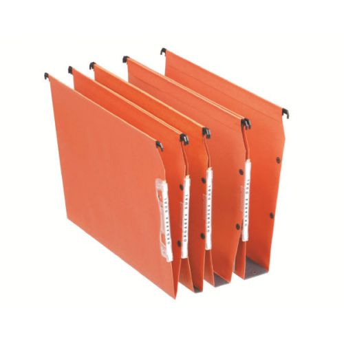Esselte Orgarex Lateral File V-Base A4 Orange 21627 (PK25)