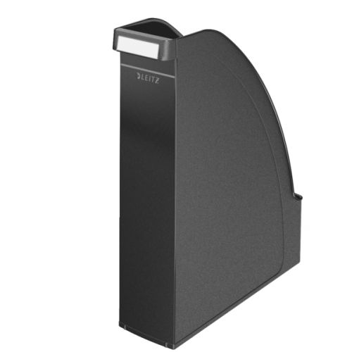 Leitz Plus Magazine File A4 Black 24760095