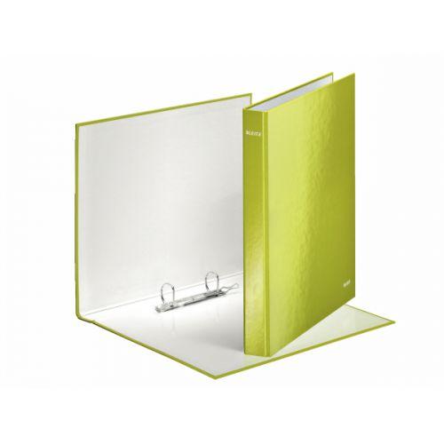 Leitz WOW Ring Binder A4+ 25mm Green (10) 42410054