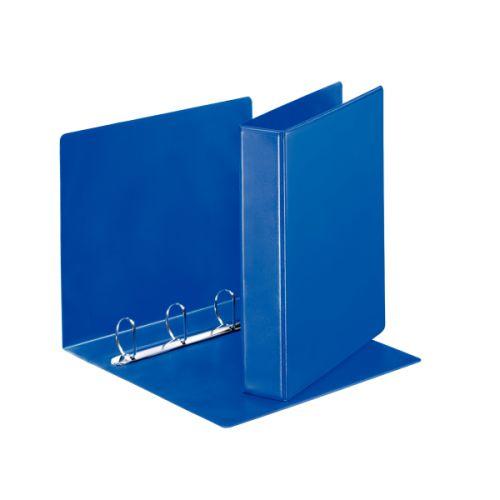 Esselte Essentials Presentation Ring Binder Polypropylene 4 D-Ring A4 40mm Rings Blue (Pack 10)