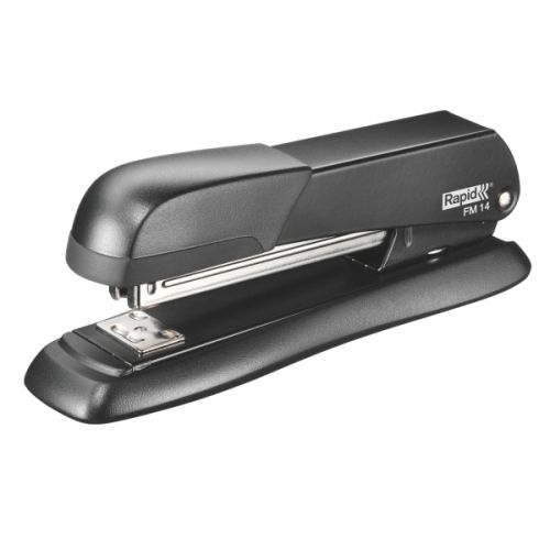 Rapid DT FM14 Stapler Full Strip Metal Black Ref 5000278