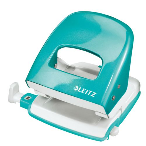 Leitz NeXXt WOW 2 Hole Punch Ice Blue 50081051