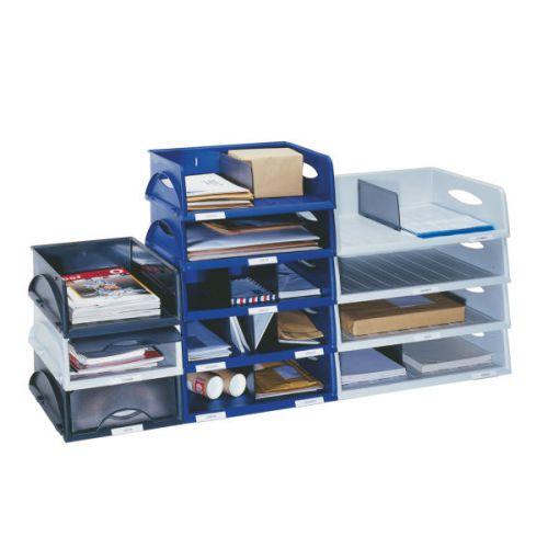 Jumbo Black A3 Letter Tray Large Letter Tray Desk Tidy Desk Organiser