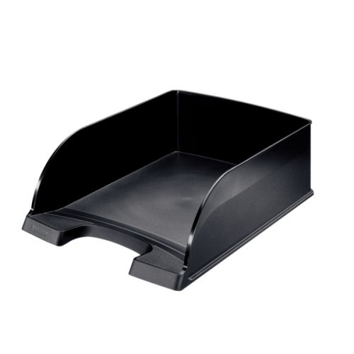 Leitz Plus Letter Tray Jumbo Black 52330095