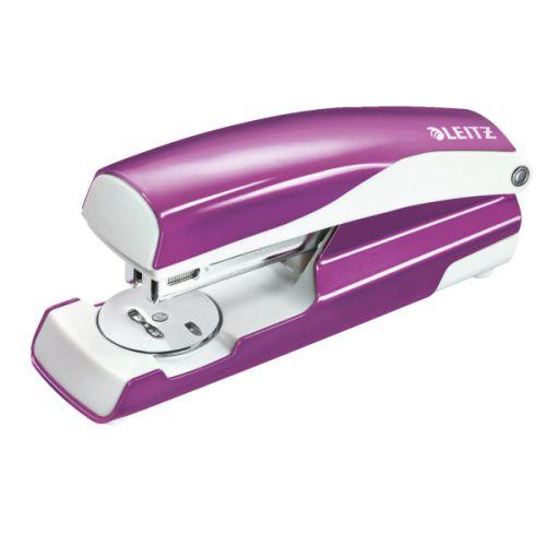 Leitz NeXXt WOW Stapler 3mm 30 Sheet Purple Ref 55021062