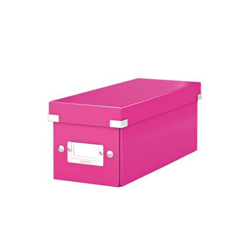 Leitz Click & Store CD Storage Box Pink