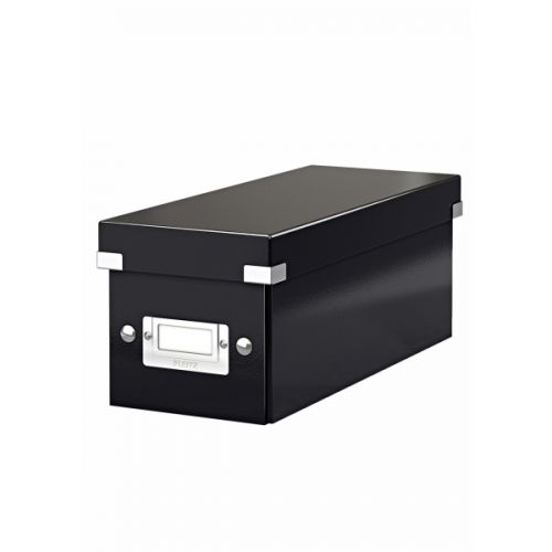 Leitz Click & Store CD Storage Box Black