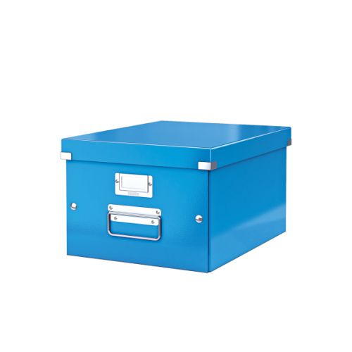 Leitz Click & Store A4 Medium Box Blue