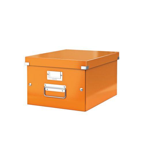 Leitz Click & Store A4 Medium Box Orange
