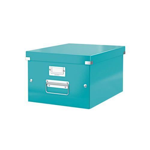 Leitz Click & Store A4 Medium Box Ice blue