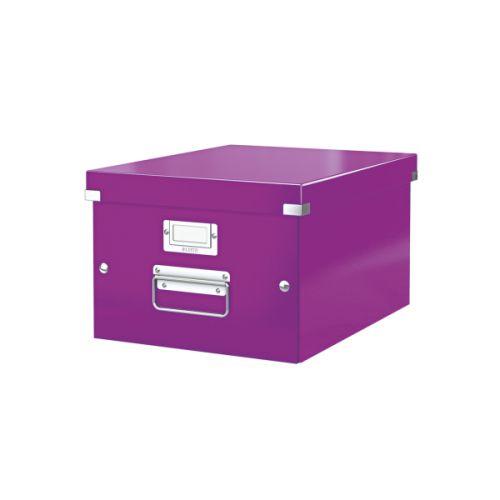 Leitz Click & Store A4 Medium Box Purple