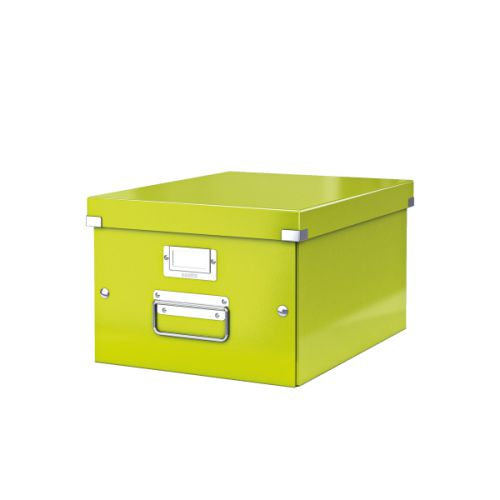 Leitz Click & Store A4 Medium Box Green
