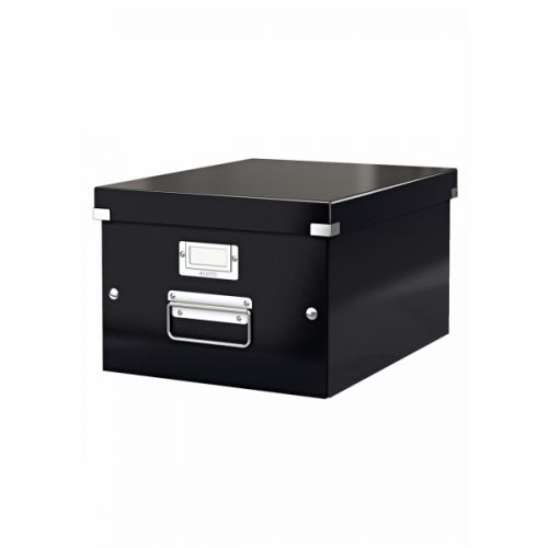 Leitz Click Store Medium Storage Box Black 60440095