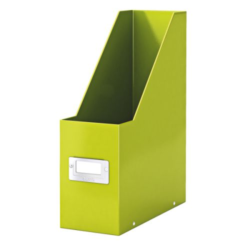 Leitz Click & Store Magazine File Green (Back and front label holder for easy indexing) 60470064