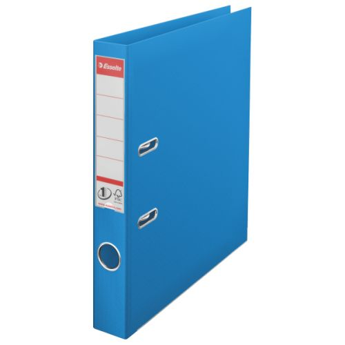 Esselte 50mm Lever Arch File Polypropylene A4 Blue (Pack of 10) 48075