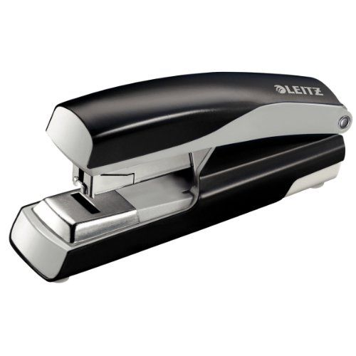 Leitz 5523 Extra Strong Metal Stapler Black 55230095