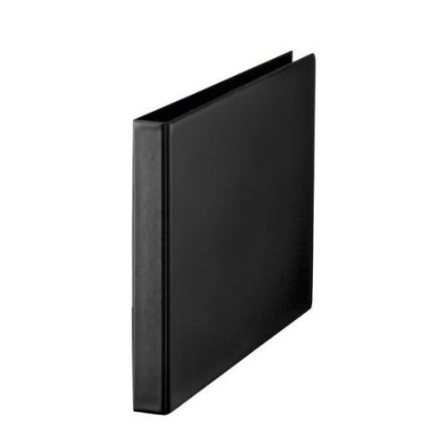 Esselte 4 O-Ring Binder 25mm Polypropylene Landscape A3 Black 68737