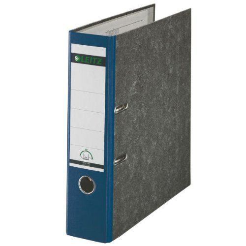 Leitz A4 Lever Arch File Blue Spine (Pack of 10) 1080-10-35
