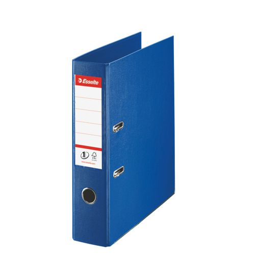 Esselte No.1 Lever Arch File Polypropylene A4 75mm Spine Width Navy Blue (Pack 10)