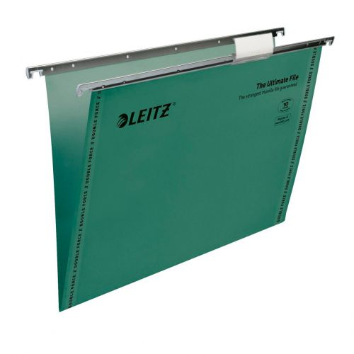 Leitz Ultimate Suspension File F/S Green 7440055 (PK50)