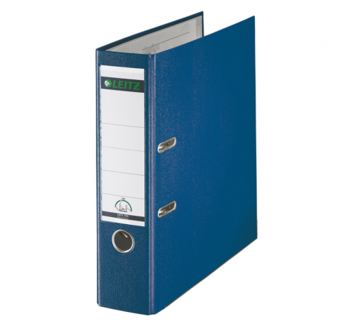 Leitz 180 Lever Arch File Poly 80mm A4 Blue (Pack of 10) 10101035