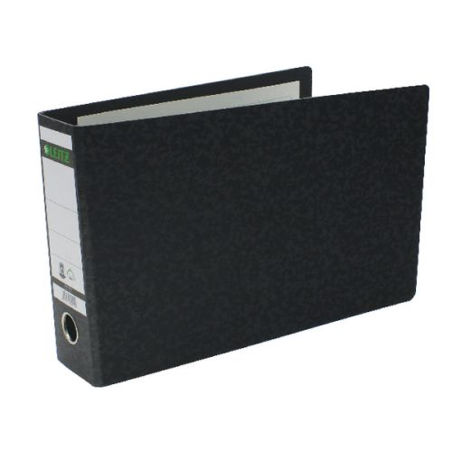 Leitz 180 Oblong Lever Arch File Board A4 Black (Pack of 4) 310690095