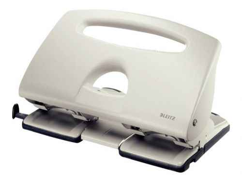 Leitz 5132 4 Hole Punch Grey 40 Sheet Capicity 51320085
