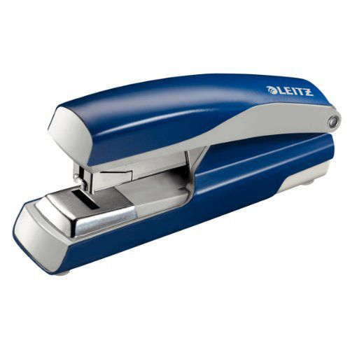Leitz NeXXt Stapler 4mm Flat Clinch Blue Ref 55230035L