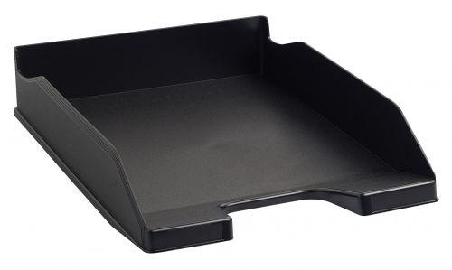 Exacompta Eco Letter Tray Black