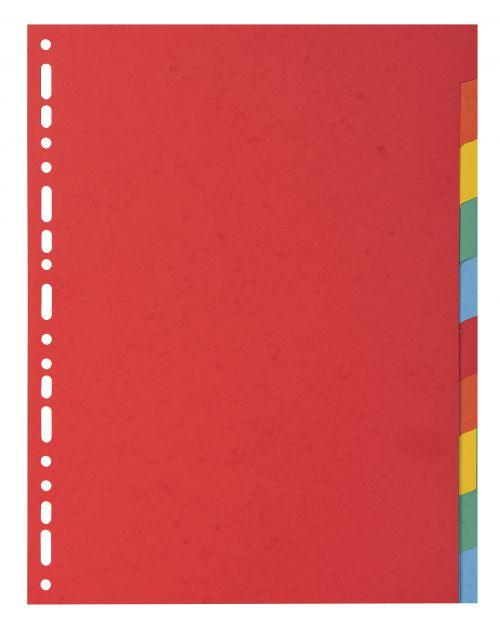 Forever Divders A4 Vivid Colours 10 Parts 220gsm