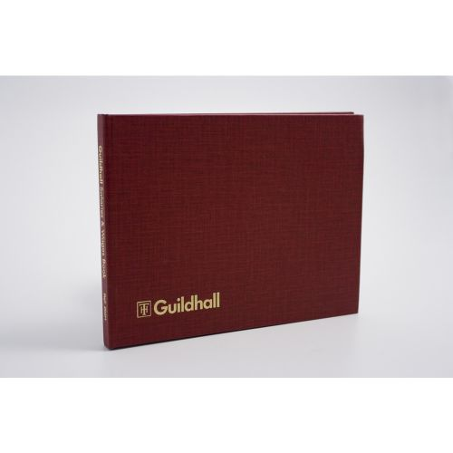 Exacompta Guildhall Wages Book 149x203mm 18 Employee 202H 1610