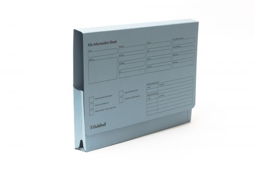 Guildhall Pre-printed 14x10 Full Flap Wallet Pack 50