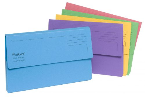 Forever Document Wallet Assorted 211/5000Z