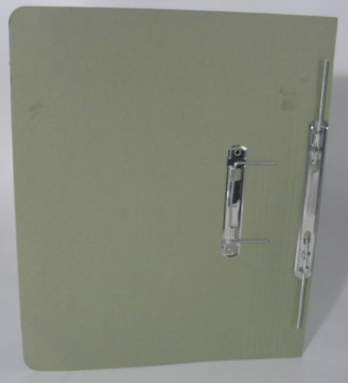Guildhall Transfer Spring Files Super Heavyweight 420gsm Foolscap Green Ref 211/7002Z [Pack 25]
