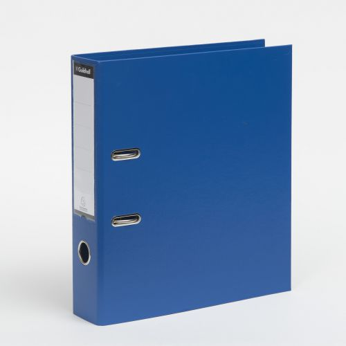 Exacompta Guildhall 80mm Lever Arch File A4 Blue (Pack of 10) 222/2001Z