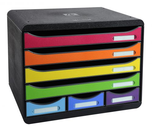 Exacompta The Store Box Mini 7 Drawers Harlequin