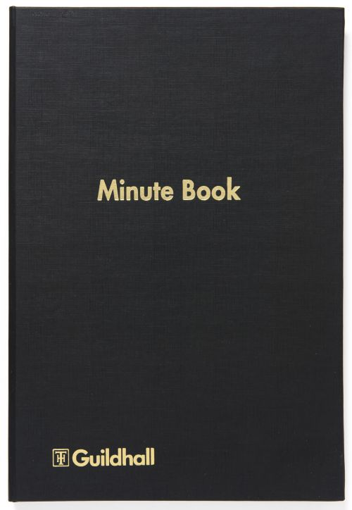 Exacompta Guildhall Minute Book Indexed 160 Pages 32M