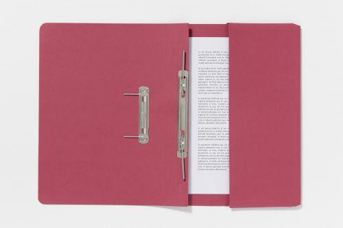 Exacompta Guildhall Pocket Spiral File 285gsm Red (Pack of 25) 347-REDZ